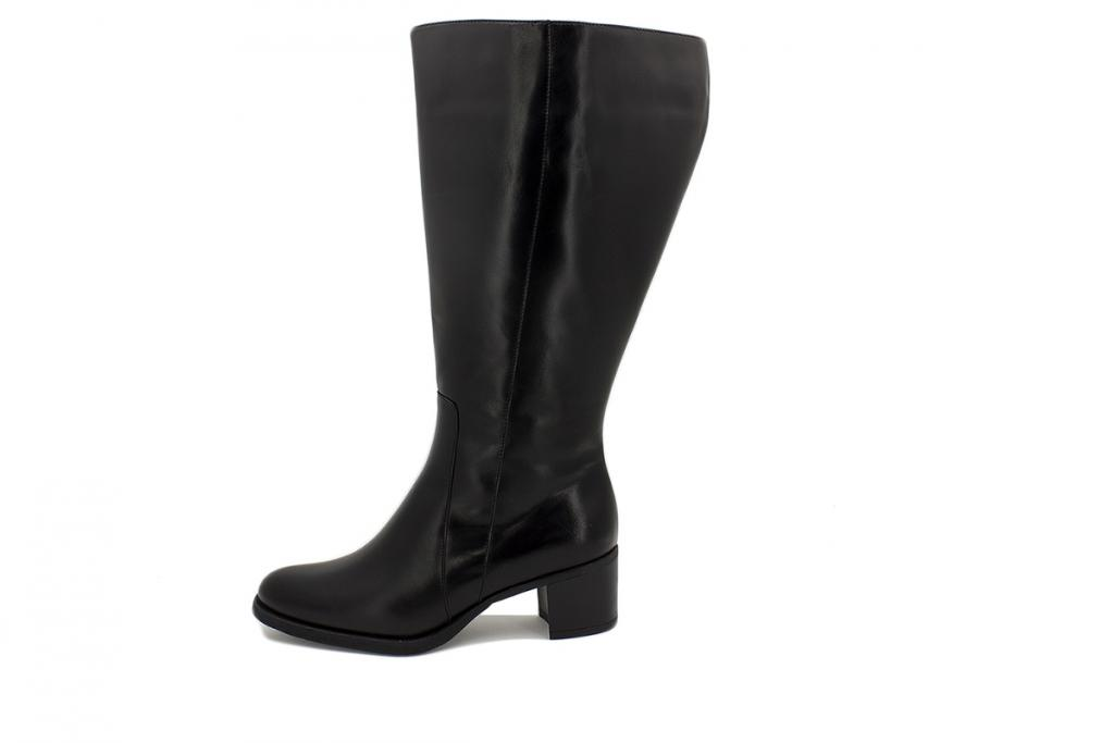 Boot Black Leather 215452