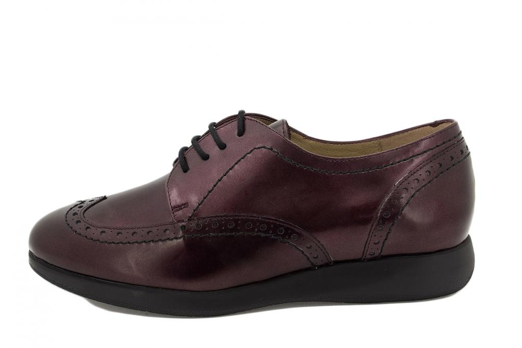 Lace-up shoe Bordeaux Metal 215540