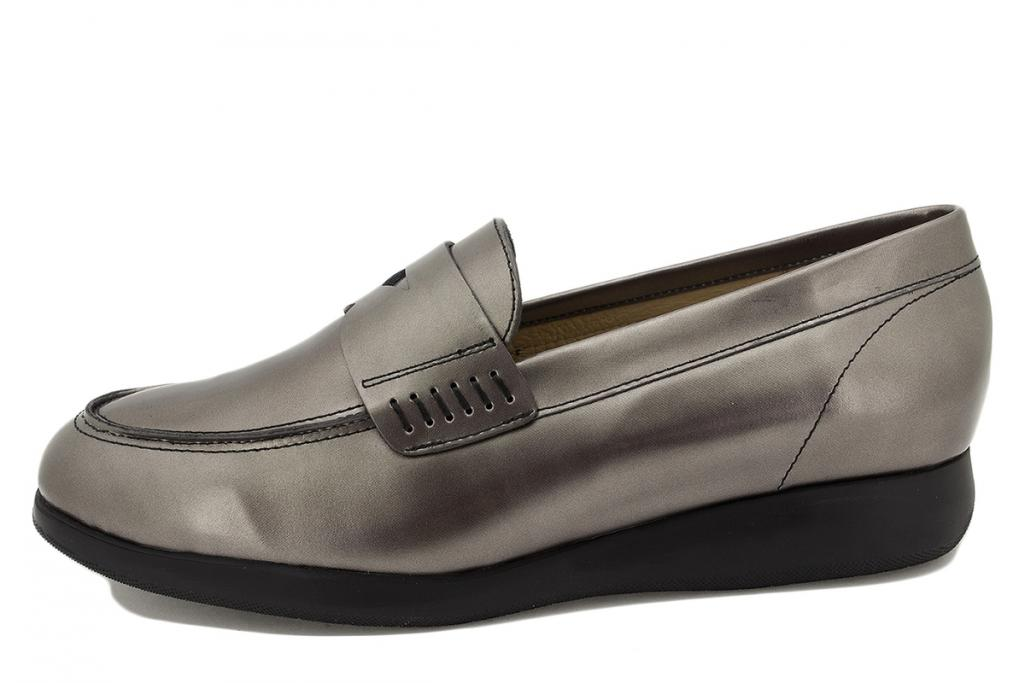 Moccasin Taupe Metal 215544