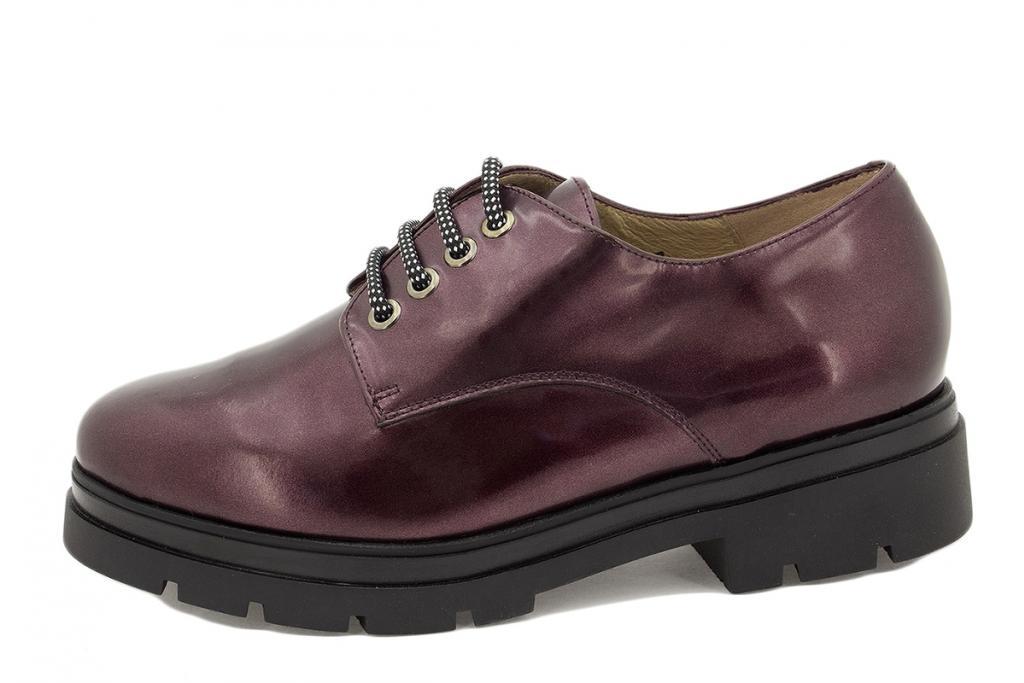 Lace-up shoe Bordeaux Metal 215675