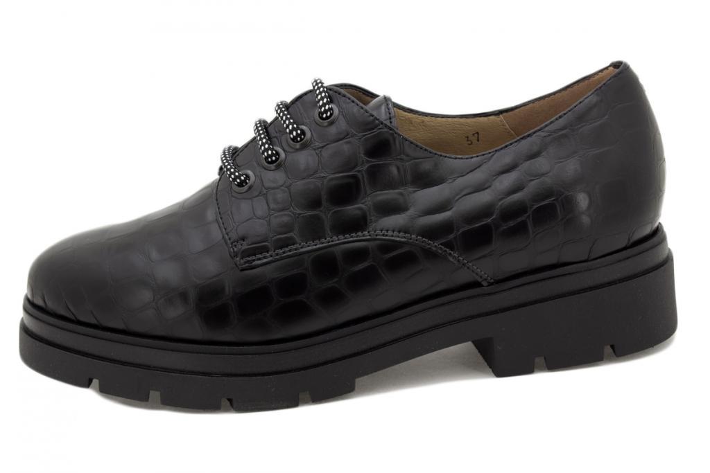 Lace-up shoe Black Coco 215675