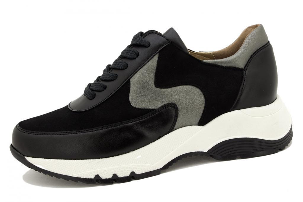 Sneaker Black Leather 215721