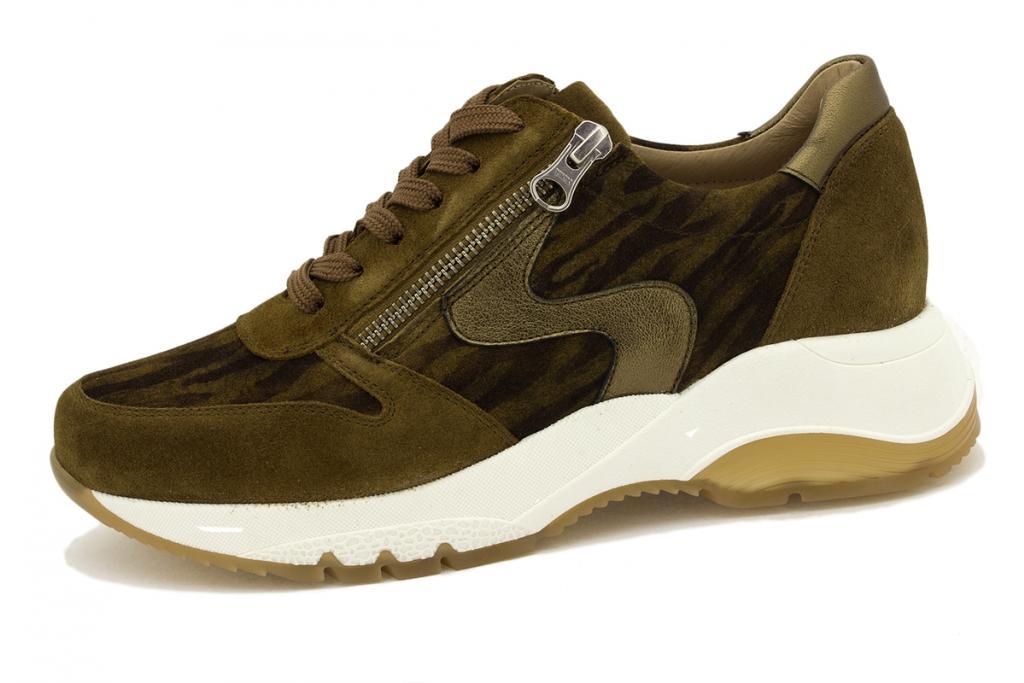 Sneaker Tan Suede 215726