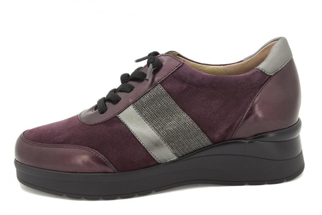 Lace-up shoe Bordeaux Metal 215751