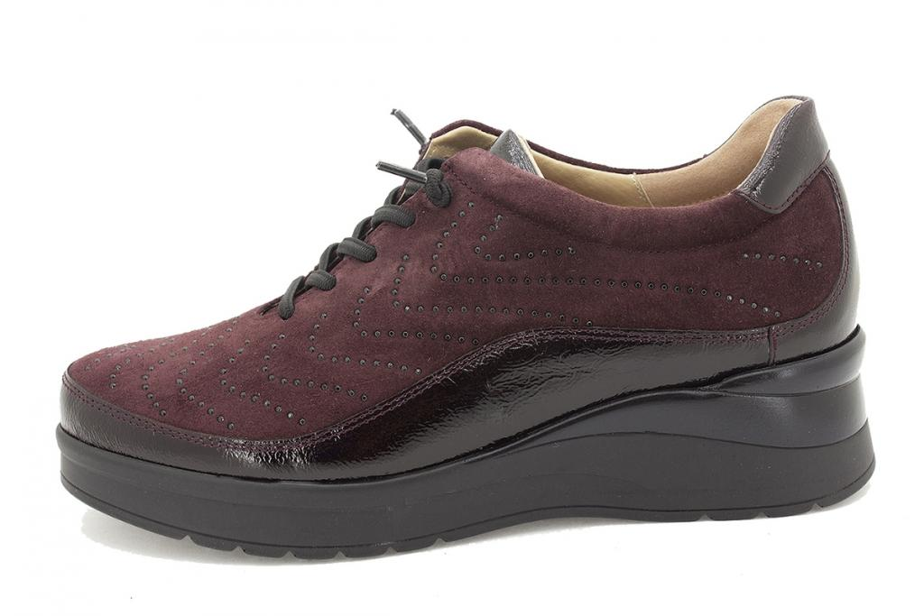 Lace-up shoe Bordeaux Patent 215754