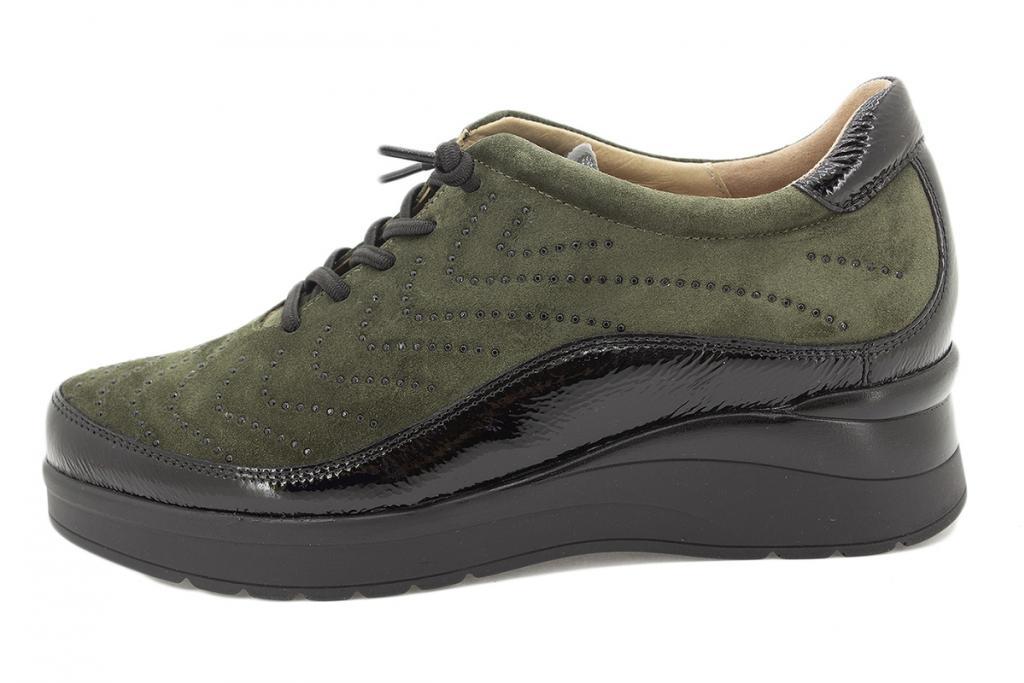 Lace-up shoe Black Patent 215754