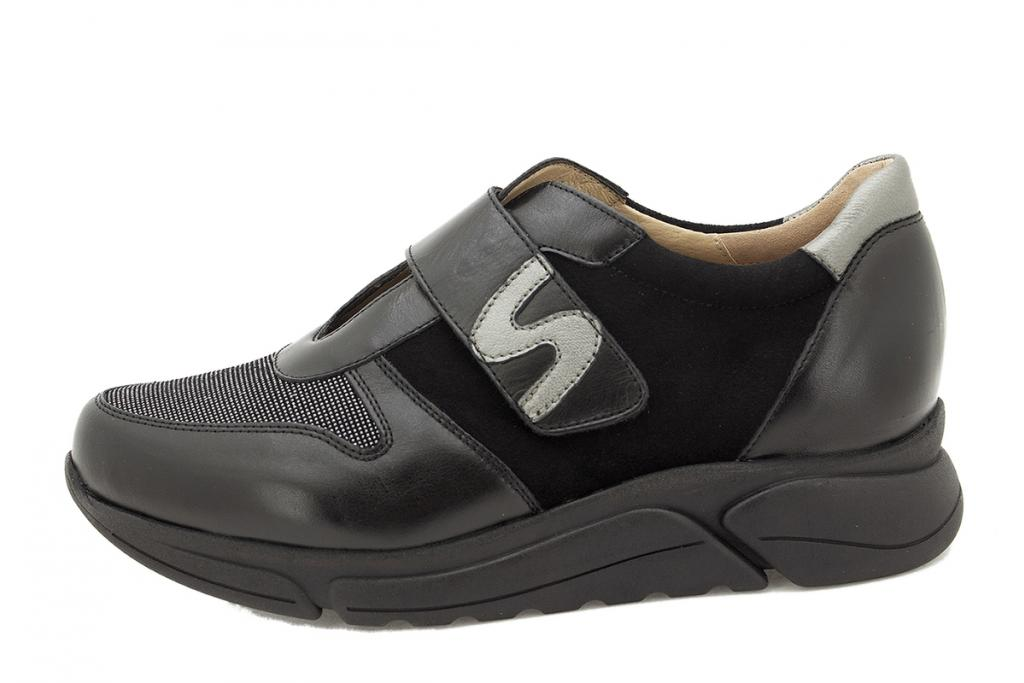 Sneaker Black Leather 215765