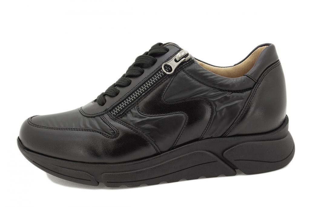 Sneaker Black Leather 215766