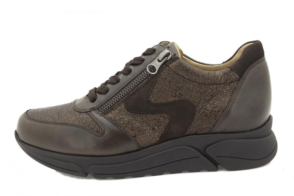 Sneaker Brown Leather 215766