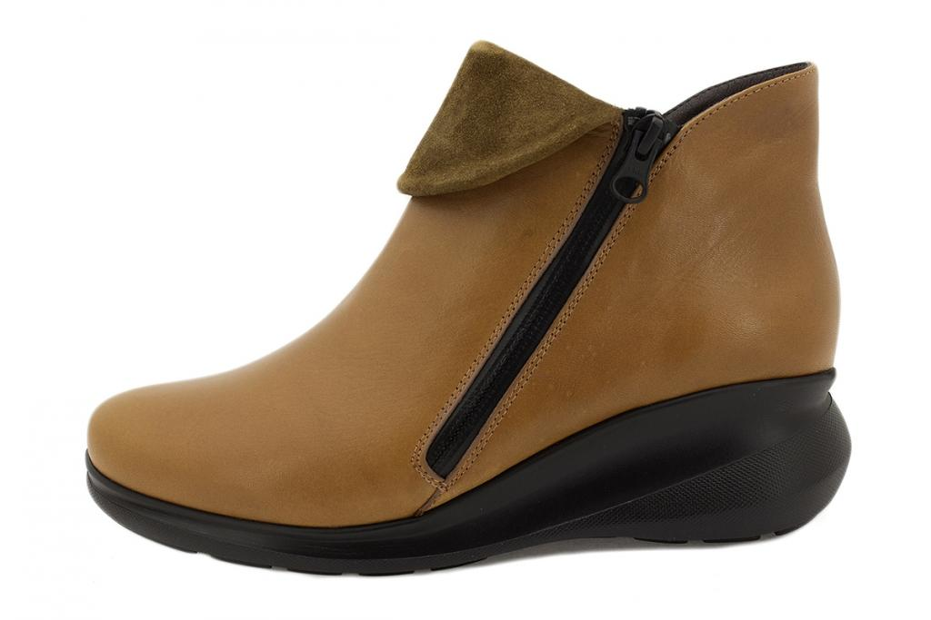Ankle boot Tan Leather 215857