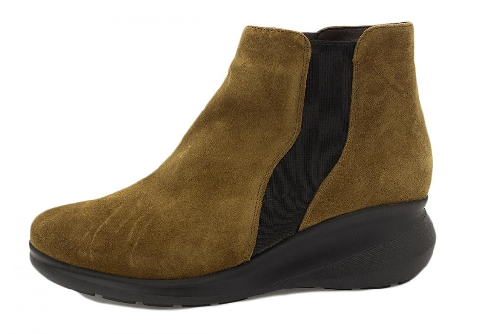 Ankle boot Tan Suede 215858