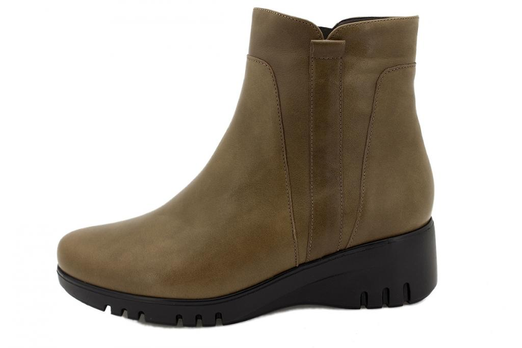 Ankle boot Nut Leather 215902