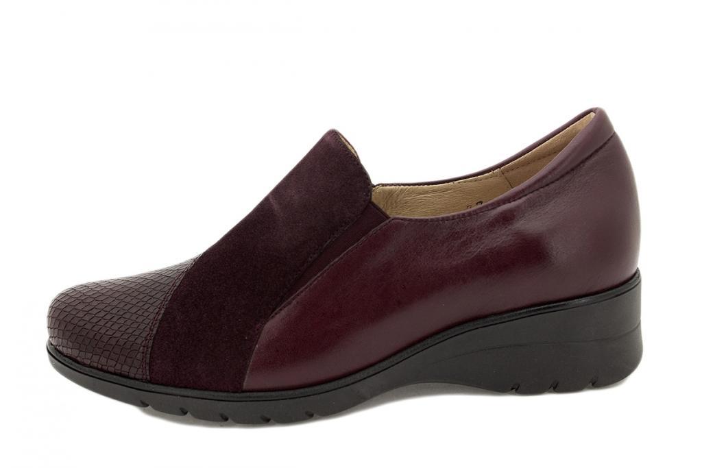 Bootee shoe Bordeaux Snake 215955