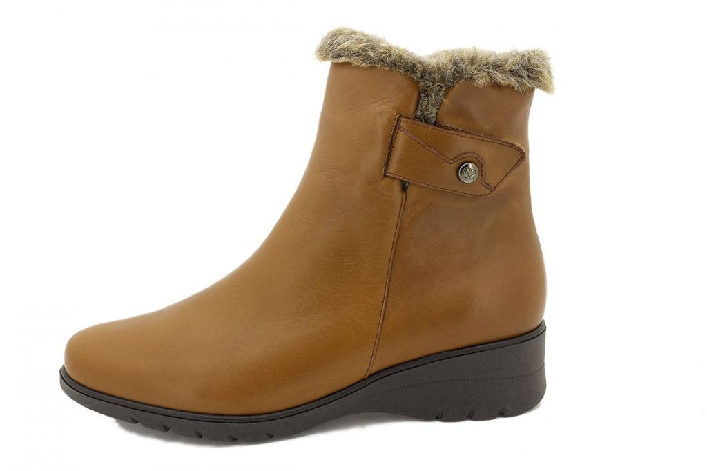 Ankle boot Brandy Leather 215974