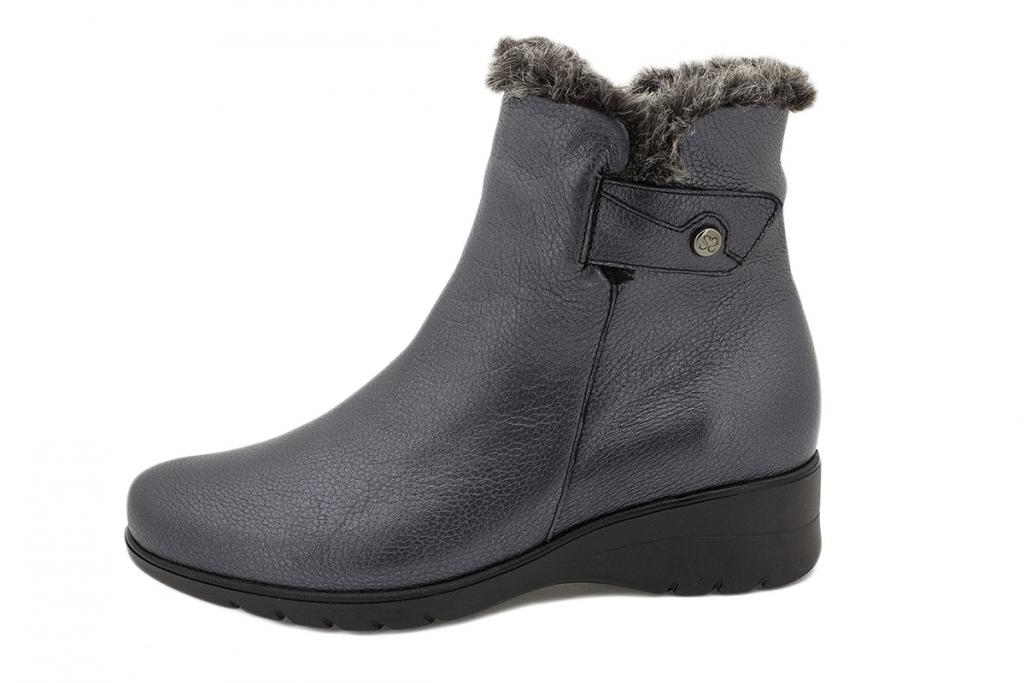 Ankle boot Graphite Leather 215974