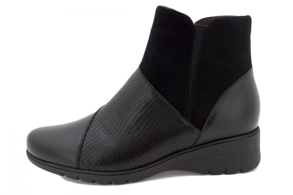 Ankle boot Black Leather 215975