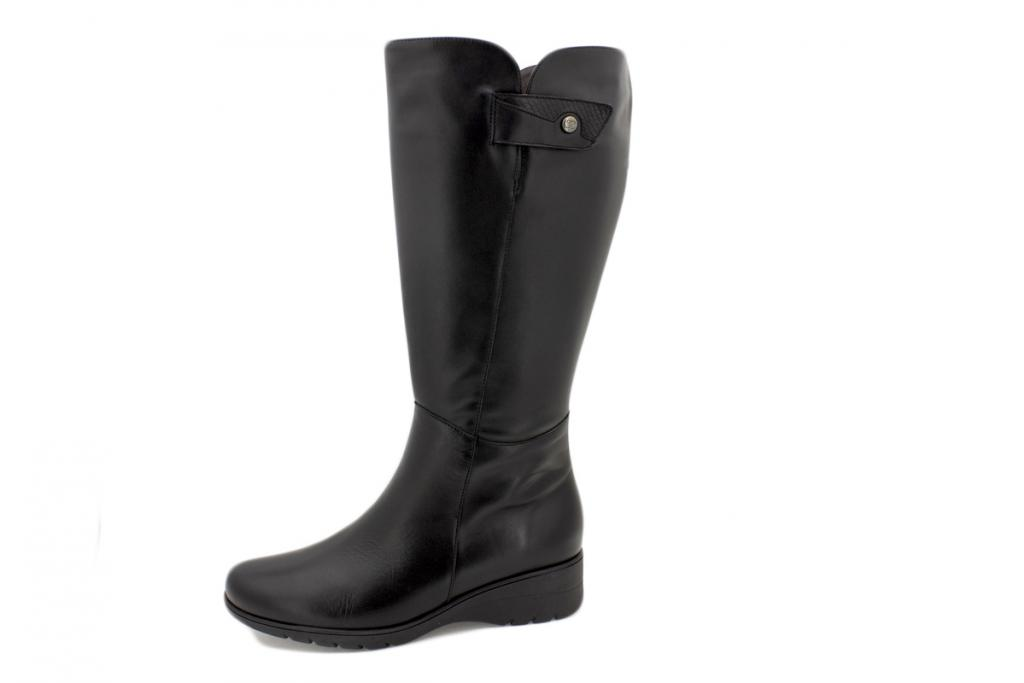 Boot Black Leather 215982