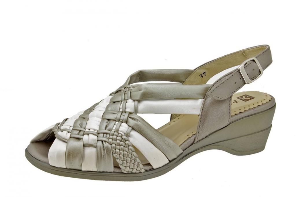 Wegde Sandal Titanium Pearly 2562