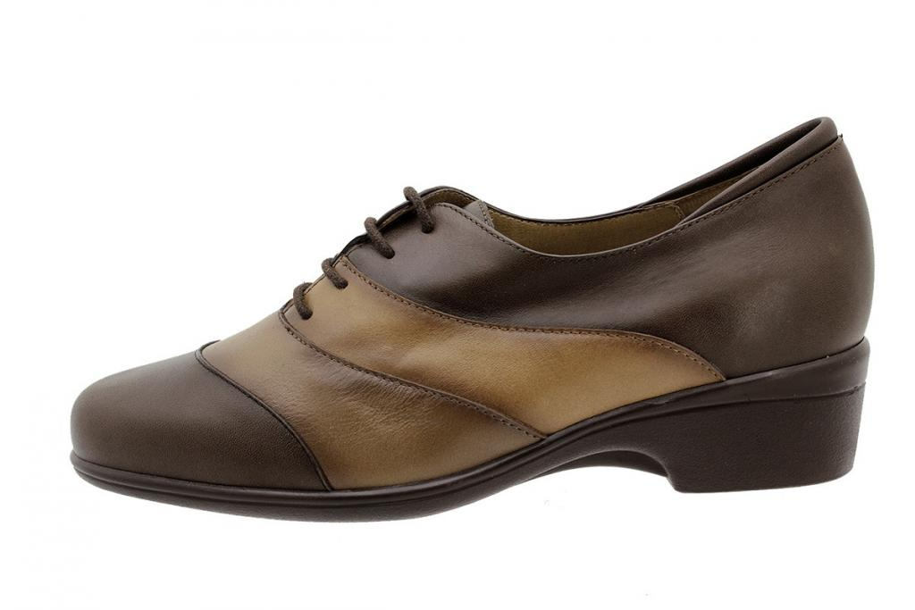 Lace-up Shoe Brown Leather 3601