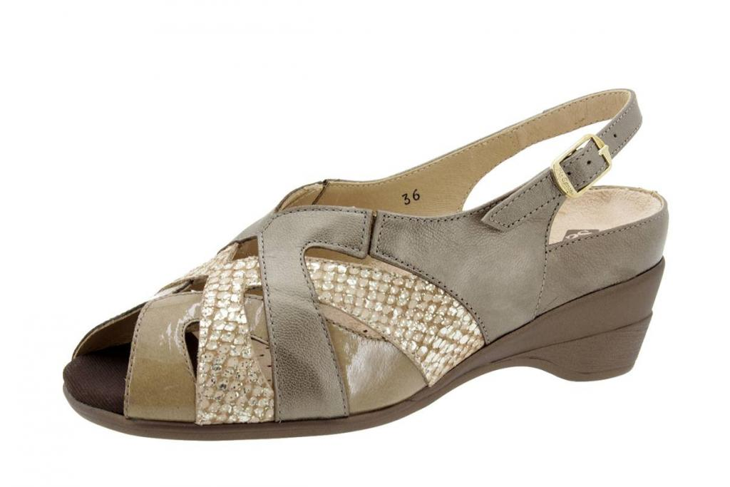 Removable Insole Sandal Pearly Taupe 4153
