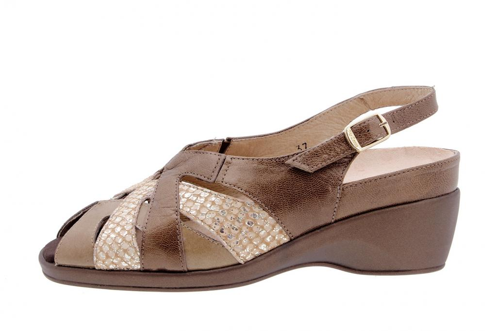 Removable Insole Sandal Pearly Taupe 4173