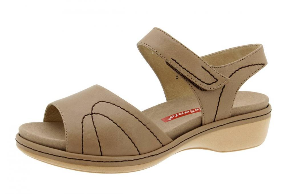 Removable Insole Sandal Leather Sand 6801