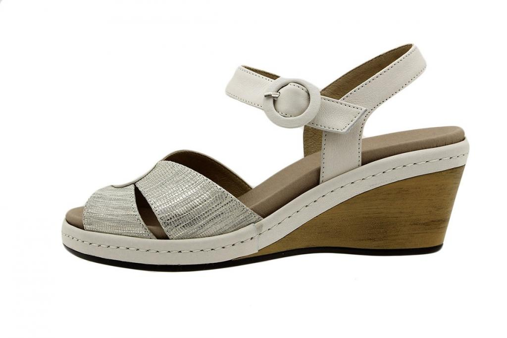 Removable Insole Sandal Ice Leather 6953