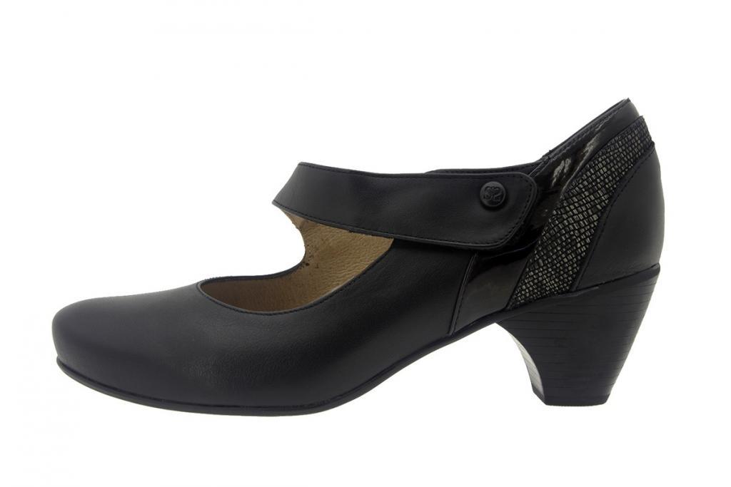 Mary-Jane Leather Black 7403