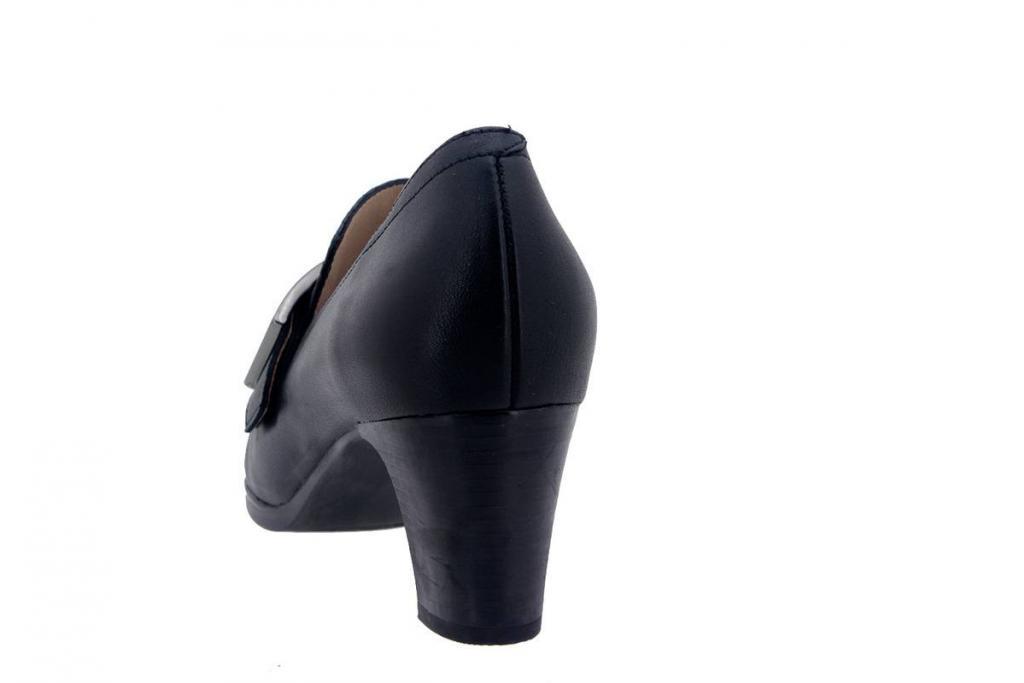 Mocasín Piel Negro 7455
