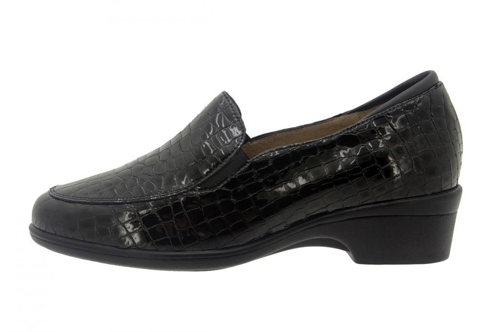 Moccasin Coco Black 7610