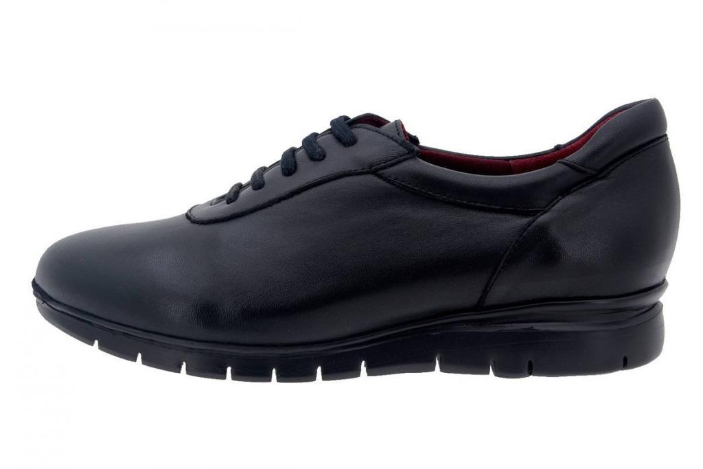 Sneaker Leather Black 7994