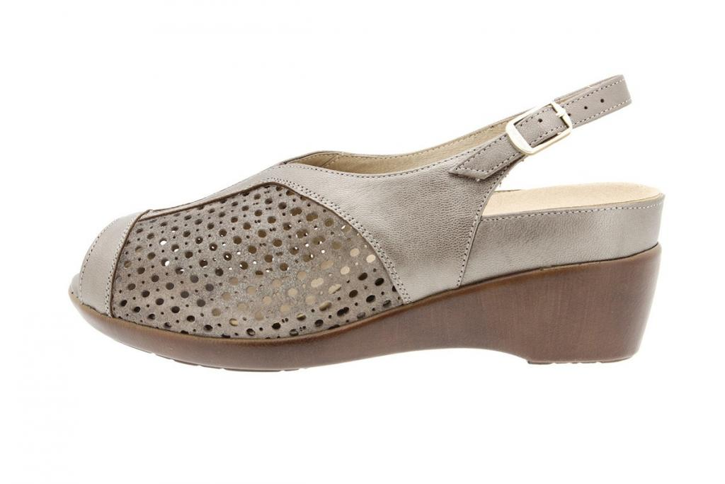 Removable Insole Sandal Pearly Taupe 8158