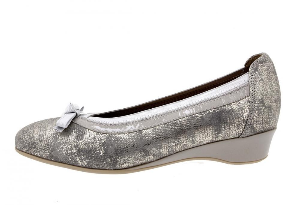 Flat shoe Metal Grey 8730