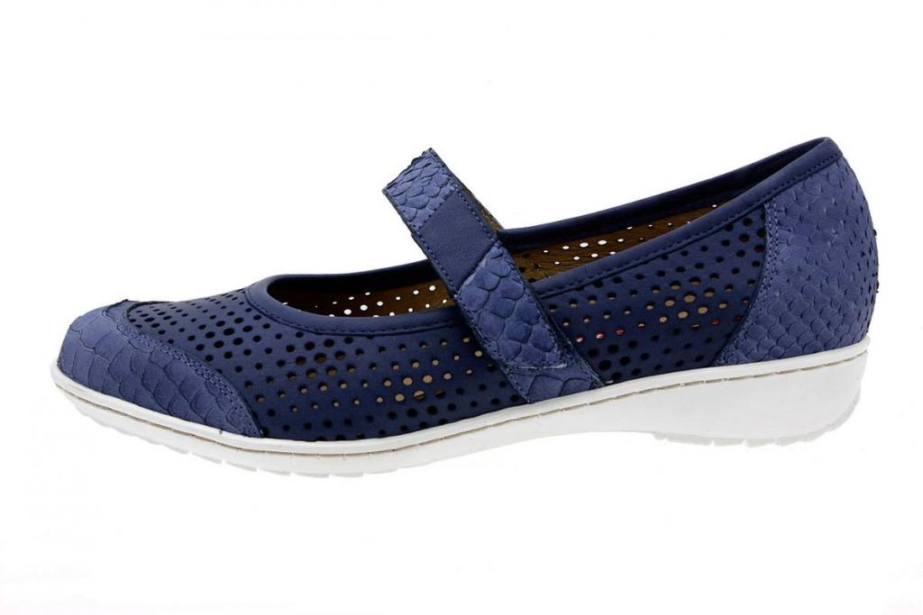 Mary-Jane Snake Blue 8756