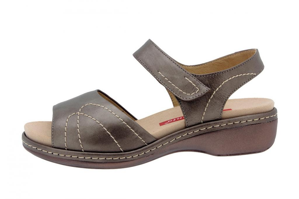 Removable Insole Sandal Pearly Taupe 8801