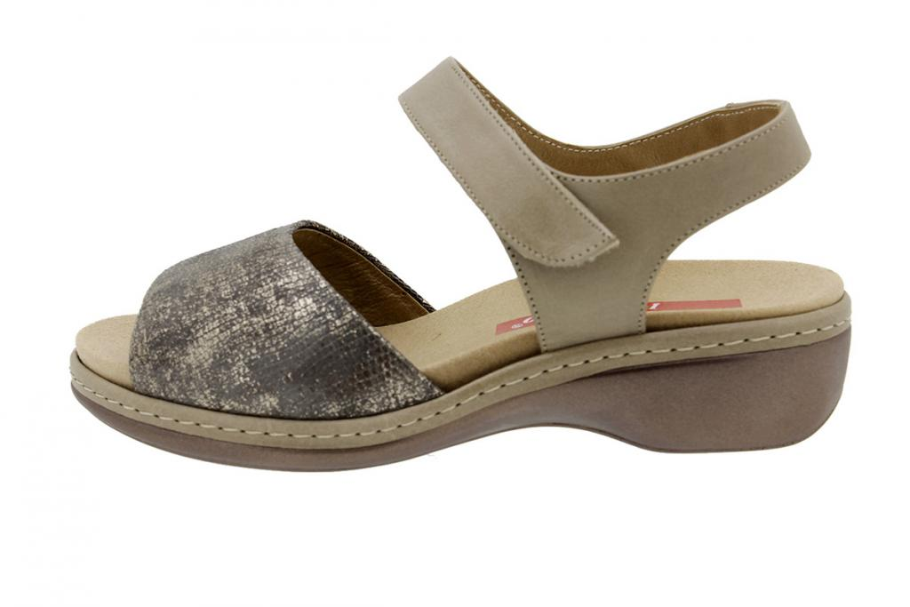 Removable Insole Sandal Mink-Pearl Metal 8807