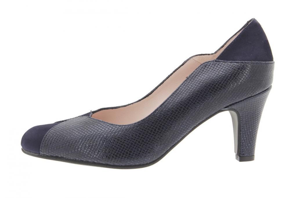 Court shoe Suede Blue 9205