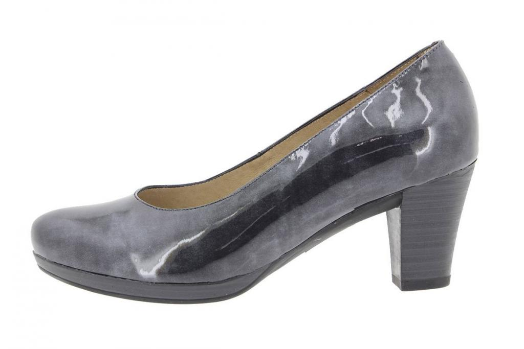 Court shoe Patent Grey 9301