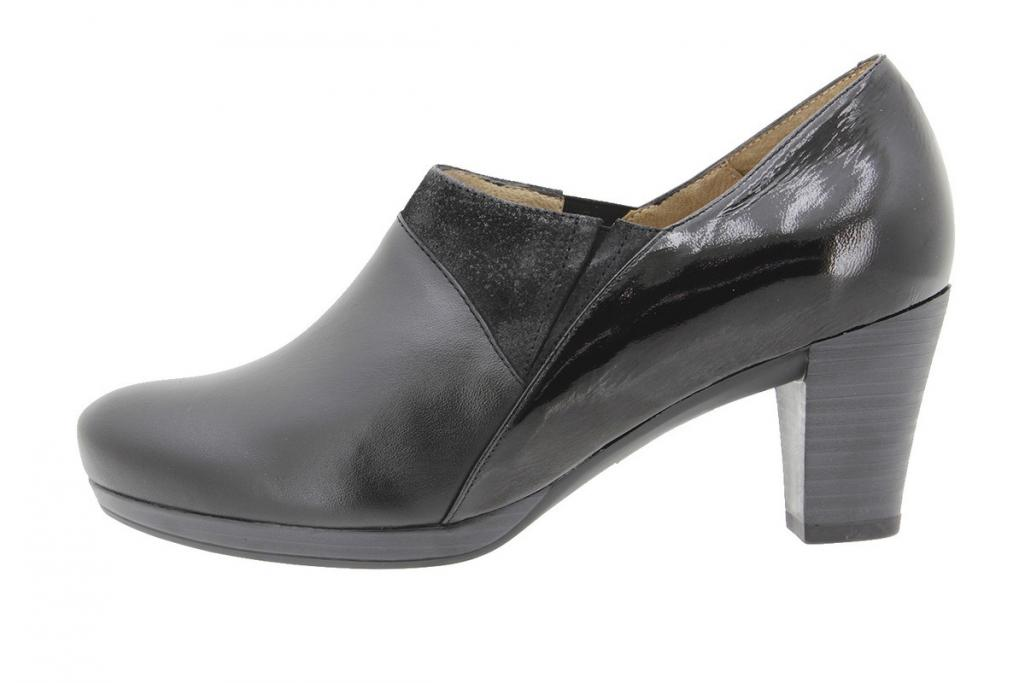 Ankle Boot Shoe Black Leather