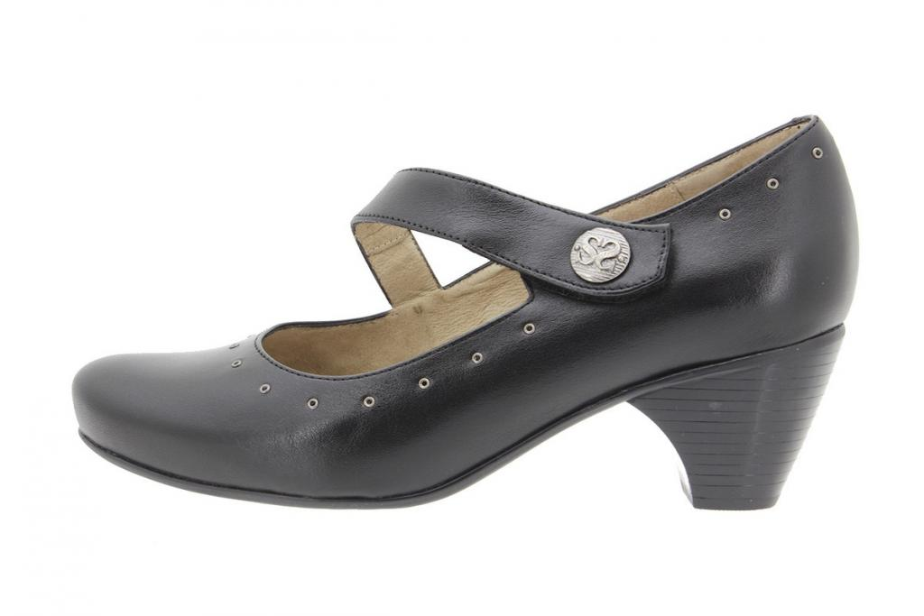Mary-Jane Leather Black 9403