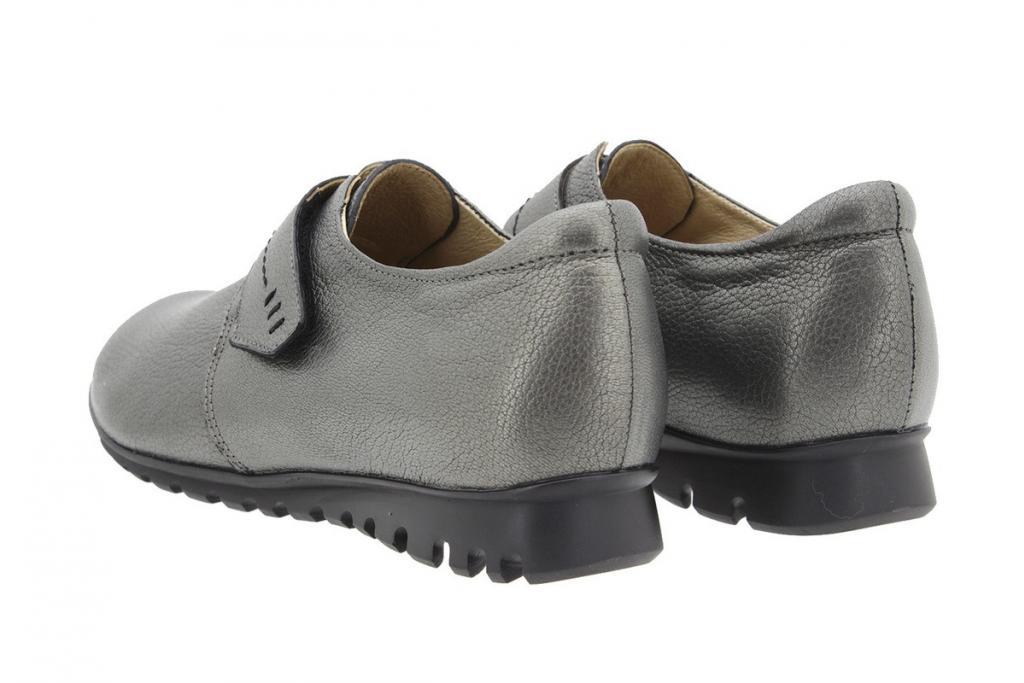 Zapato Velcro Piel Verde 9526