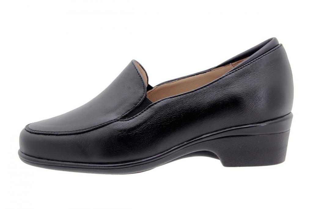 Moccasin Leather Black 9610