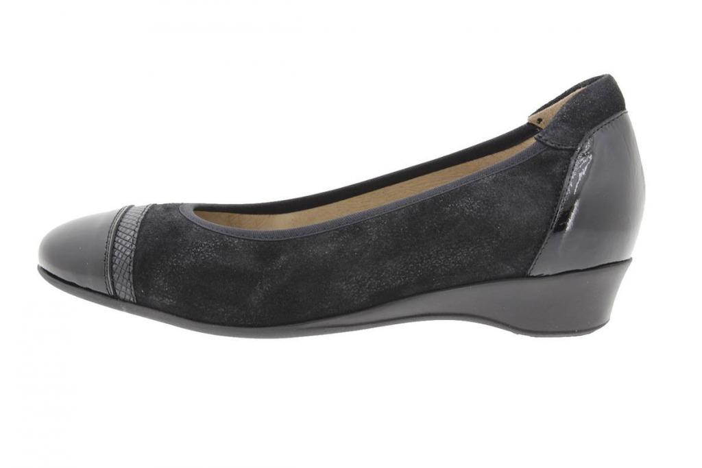 Flat shoe Patent Black 9723