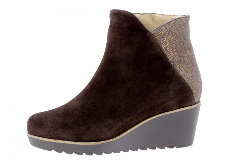 Ankle boot Suede Brown 9793