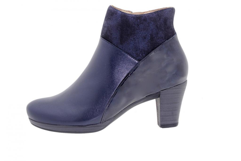 Ankle boot Leather Blue 9805
