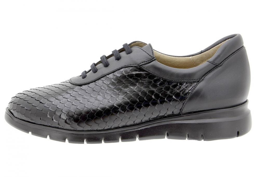 Sneaker Serpiente Negro 9994