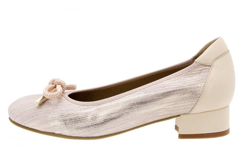 Flat shoe Snake Nude