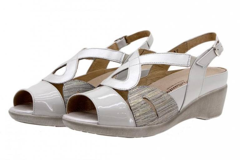 Removable Insole Sandal Patent Pearl 1155