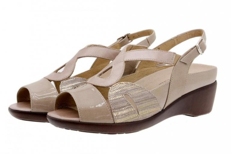 Removable Insole Sandal Patent Mink 1155