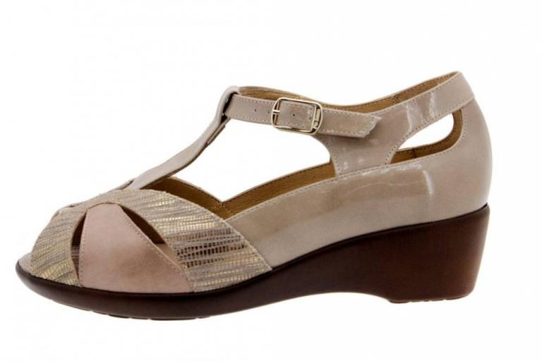 Removable Insole Sandal Snake Mink 1160